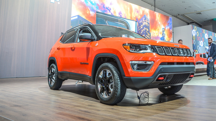 Los Angeles 2016 - Jeep Compass, plus tout-terrain que SUV