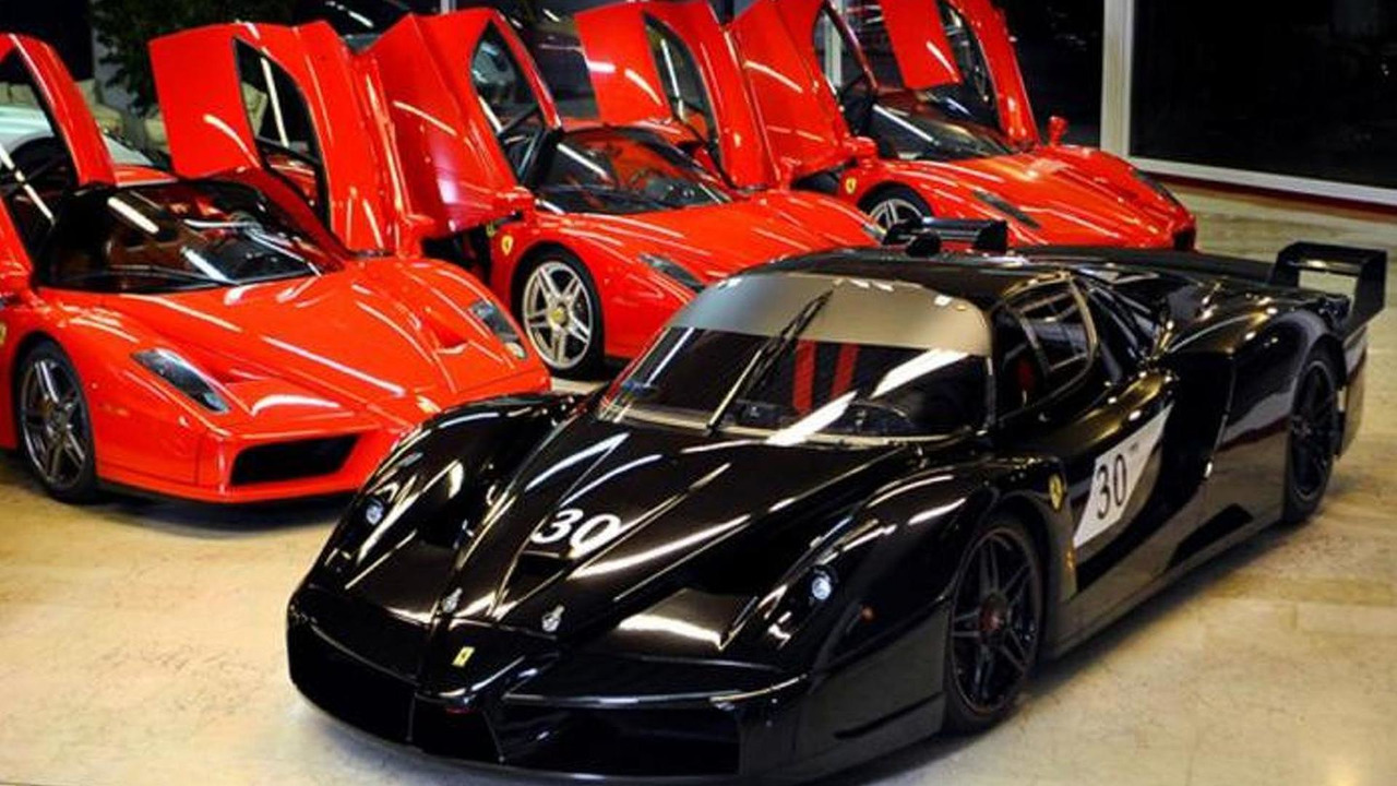 Ferrari FXX previously owned by Michael Schumacher