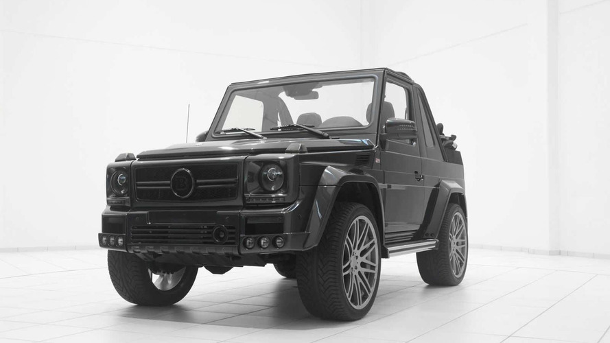 Mercedes-Benz G500 Convertible tuned by Brabus