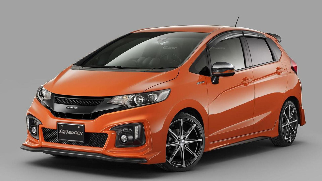 Honda MUGEN FIT RS (featuring special accessories)