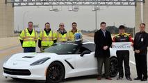 Hennessey C7 Corvette Runs 200 MPH on Texas Toll Road