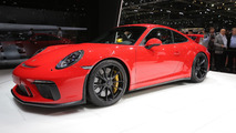 2018 Porsche 911 GT3 gets 500-hp 4.0-litre engine, six-speed manual