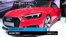VIDÉO - L'Audi RS 5 frappe fort à Genève !