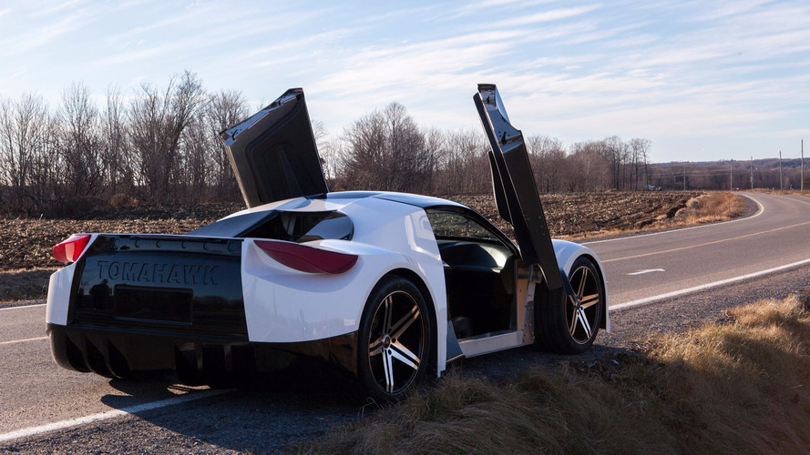 Tomahawk electric sports car attempts crowdsourced launch