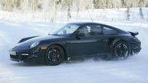 Porsche 911 Turbo Facelift Almost Undisguised