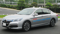 Autonomous Honda Clarity fuel cell