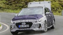 2017 Hyundai i30 spy photos from the Alps