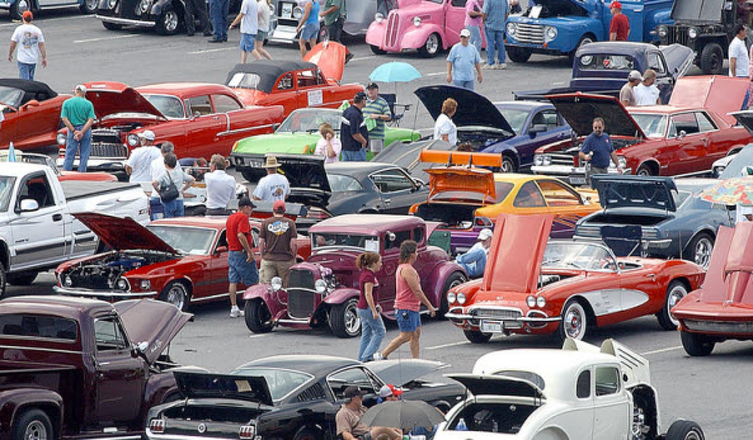 The Five Guys You Meet at Car Shows