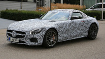 Mercedes-AMG GT C Roadster spy photos