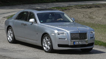 Rolls-Royce Ghost facelift spied for the first time