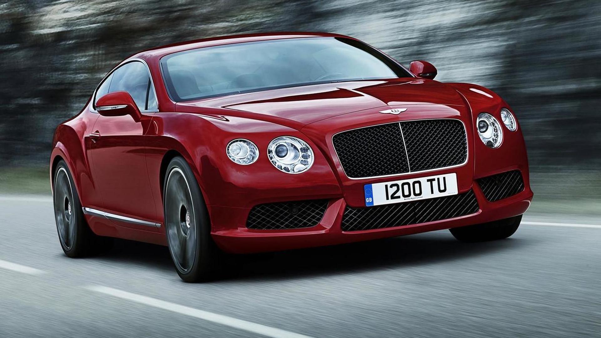 Bentley Continental GT V8 / GTC V8 unveiled in Detroit [videos]