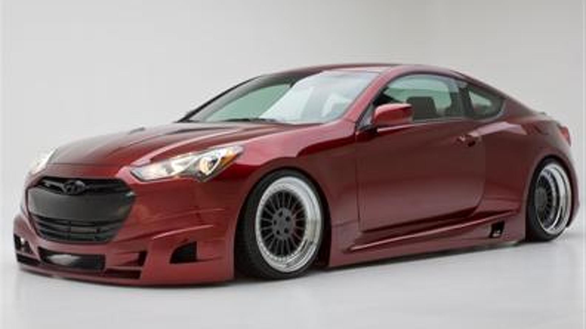 Hyundai Genesis Coupe prepared by FuelCulture – 2012 SEMA