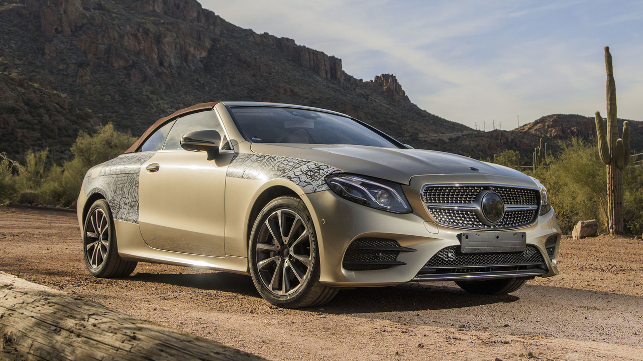 2018 mercedes e class cabriolet first ride making of a topless beauty. Black Bedroom Furniture Sets. Home Design Ideas