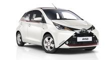 Toyota - L'Aygo enfile sa tenue de soirée, des séries spéciales pour les Auris, Verso et Avensis