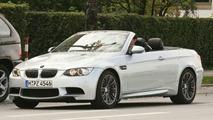 BMW M3 Cabrio Spied