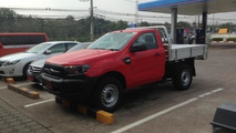 Ford Ranger facelift spied with no camouflage