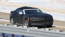 2016 Chevrolet Camaro Convertible spy photo