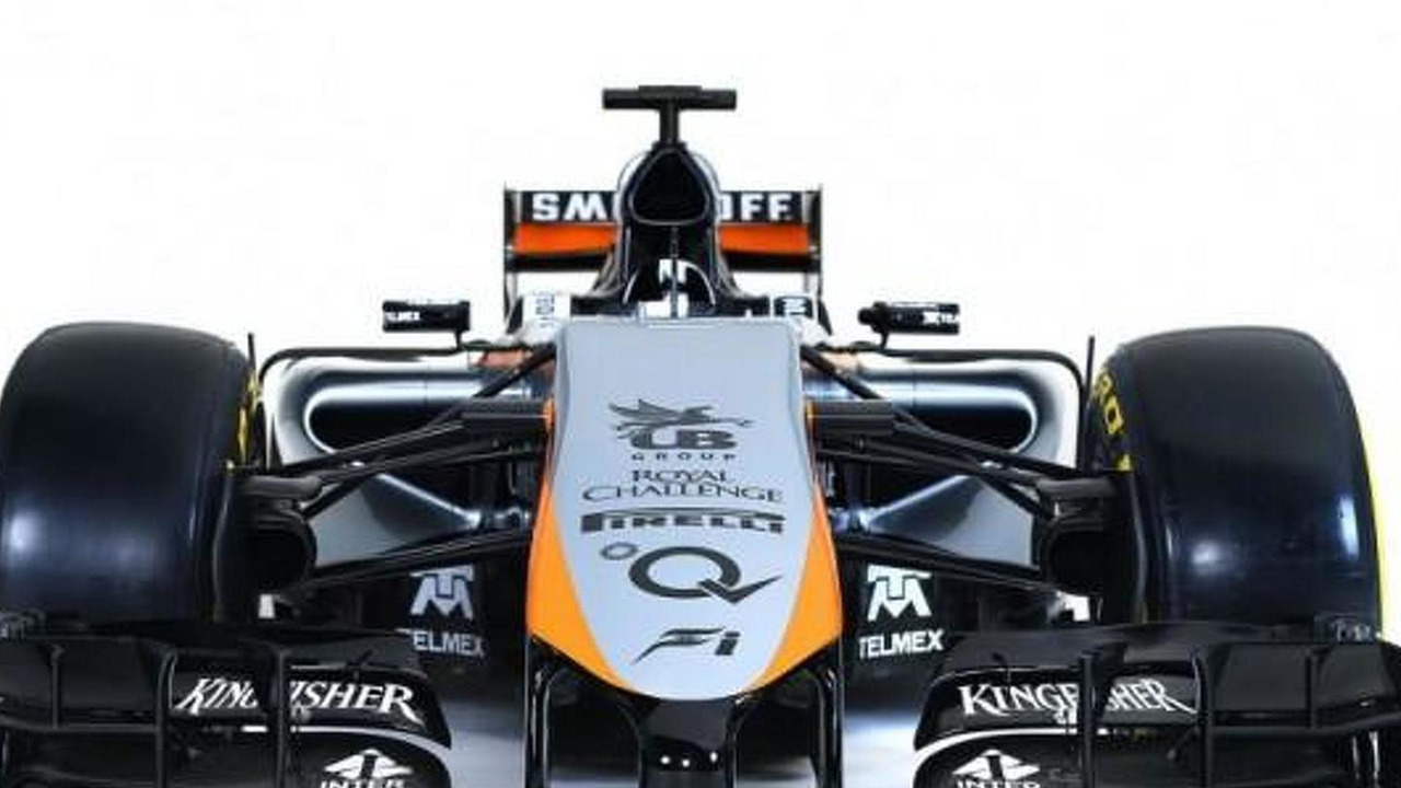Force India 2015 livery
