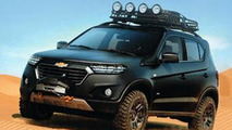 Chevrolet Niva concept leaked ahead of Moscow Motor Show debut