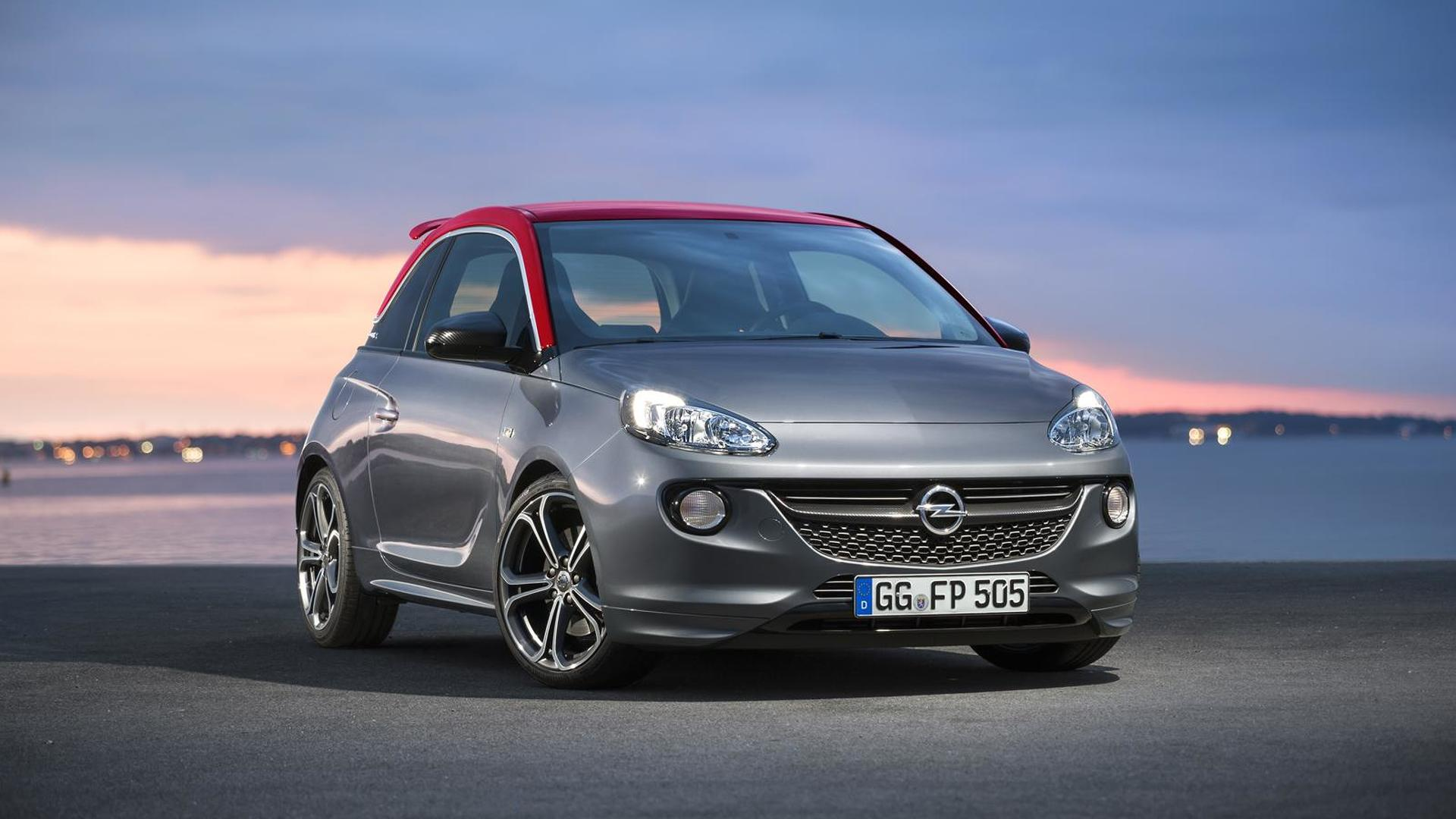 Opel Adam S priced from €18,690 in Germany