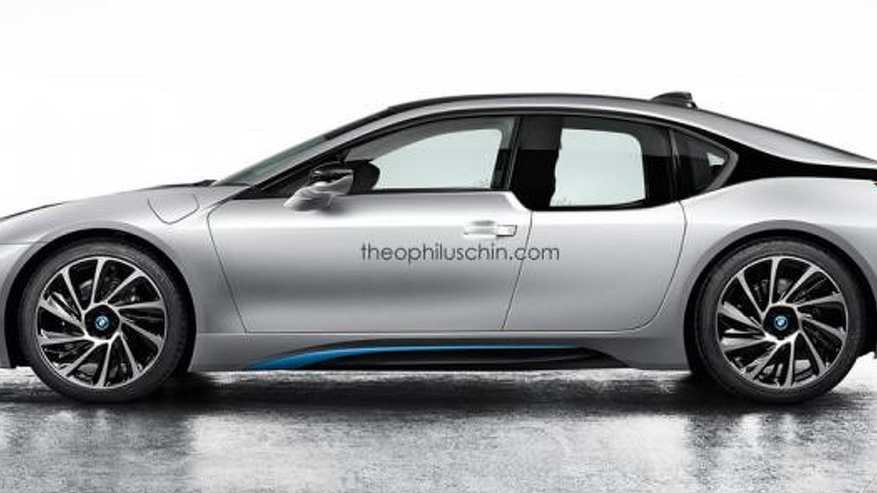 BMW i8 L rendering / Theophilus Chin