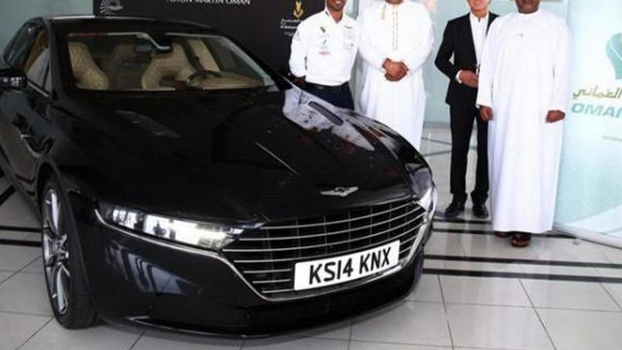 Aston Martin Lagonda pre-production unit