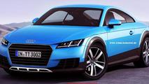 Audi TT Allroad render has potential