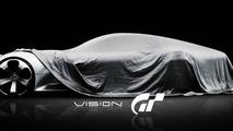 Mercedes-Benz Vision Gran Turismo concept teaser