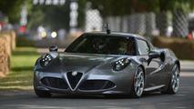 U.S.-spec Alfa Romeo 4C is 342 lbs fatter than Euro model, priced at 55,195 USD
