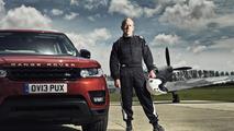 2014 Range Rover Sport races a Spitfire [video]