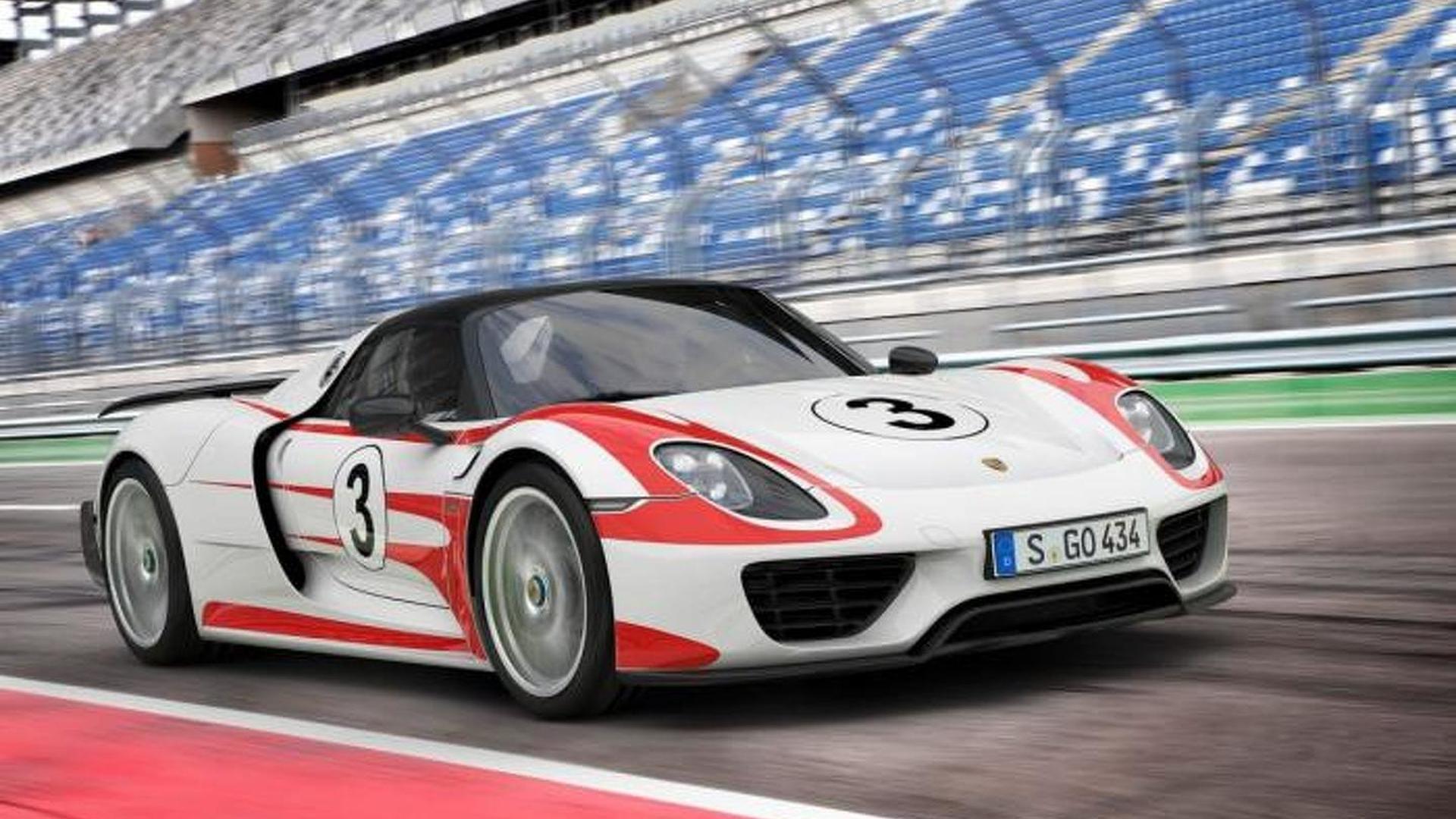 Porsche updates 918 Spyder performance figures, 0-60 mph in 2.5s
