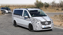 2014 Mercedes-Benz V-Class and next-gen Vito spied in southern Europe