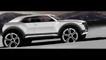Audi Q1 design to combine crossover, Sportback and Avant cues