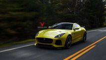 2016 Jaguar F-Type SVR render