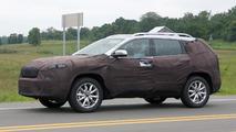 2017 Jeep Cherokee spy photo