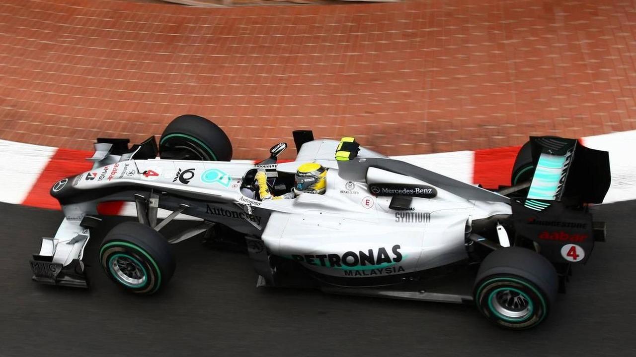 Nico Rosberg (GER), Mercedes GP Petronas, W01, Monaco Grand Prix, 13.05.2010, Monaco, Monte Carlo