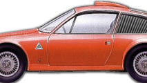 Alfa Romeo Junior Z 2000 Periscopio 1972
