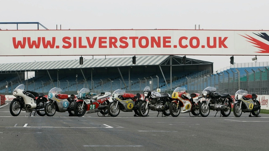 Silverstone wins MotoGP race from Donington for 2010