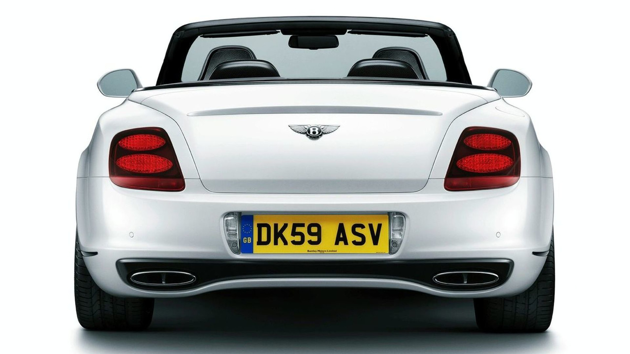 bentley continental supersports convertible video