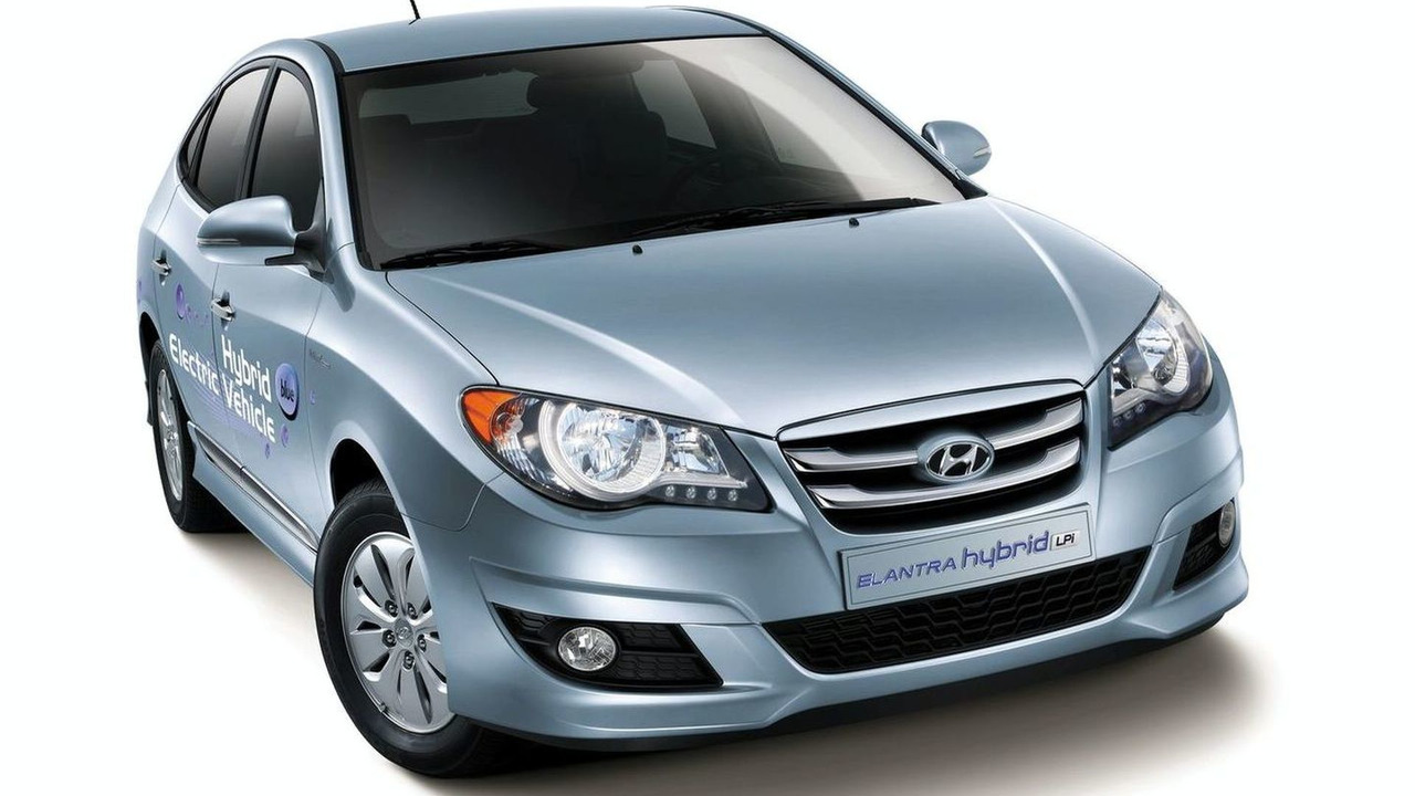 Hyundai Elantra LPI Hybrid Electric Vehicle