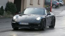 2011 Porsche 998 Cabriolet spy photo
