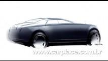 Rolls-Royce mostra esboço do futuro modelo esportivo batizado de
