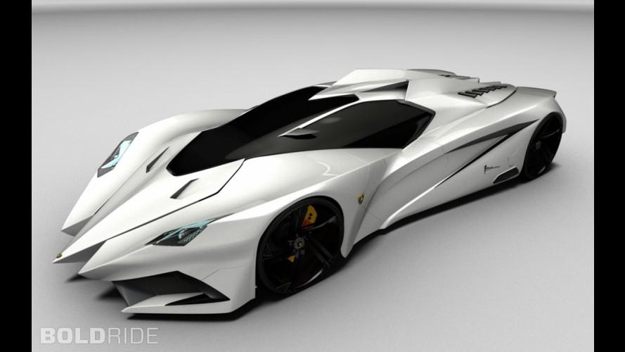 Lamborghini Ferruccio Concept by Mark Hostler