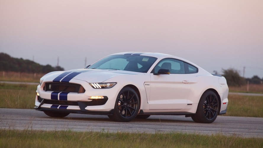 Watch Hennessey's 800-hp Ford Mustang Shelby GT350 hit the dyno