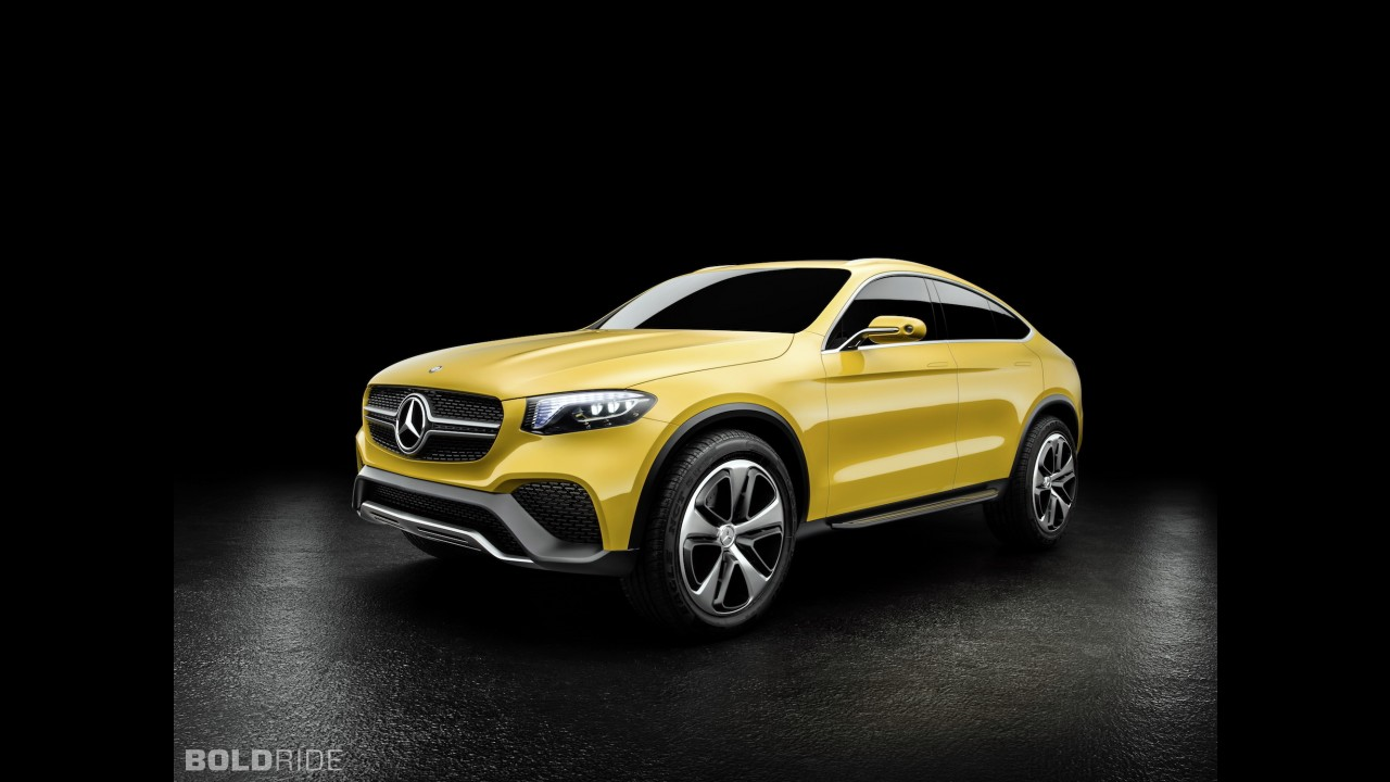 Mercedes-Benz GLC Coupe Concept