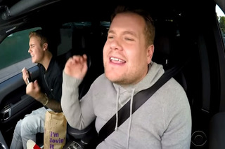 Watch Justin Bieber and James Corden Have Fun With Car Karaoke