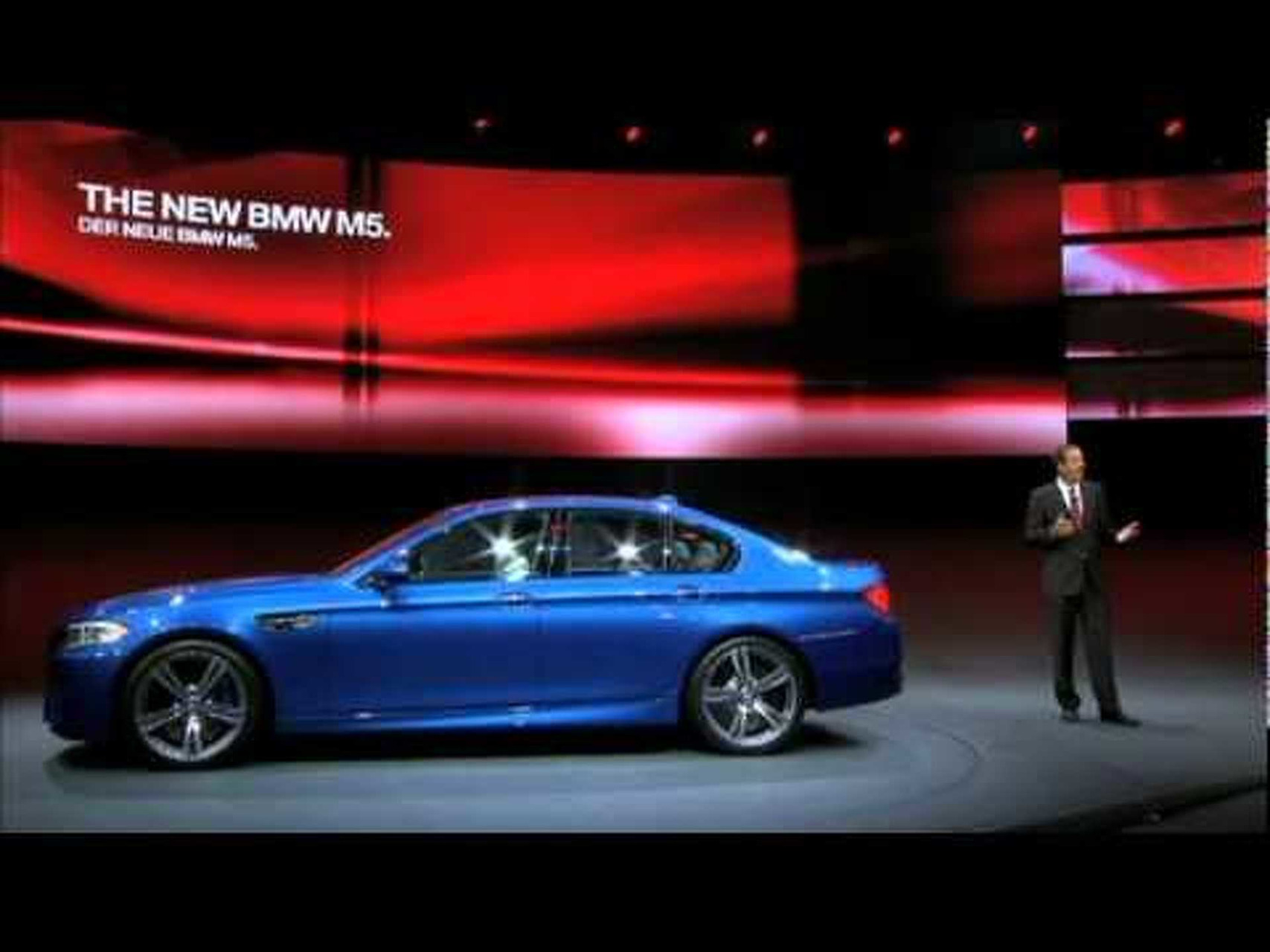 2012 BMW M5 - 2011 Frankfurt Motor Show Video