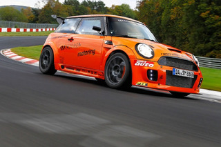 Watch This Mini Match Pagani Zonda's Nürburgring Time
