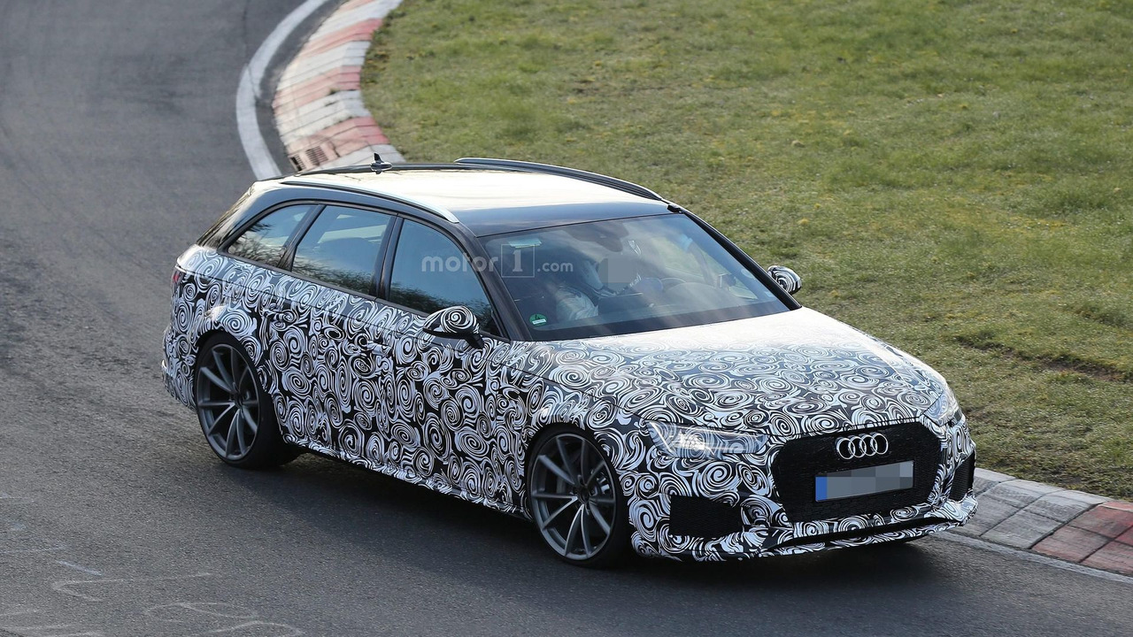 2017 audi rs4 avant goes all out at the n rburgring. Black Bedroom Furniture Sets. Home Design Ideas