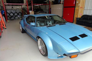 Classified: Race-Prepped DeTomaso Pantera Rivals Swagger of Modern Supercars